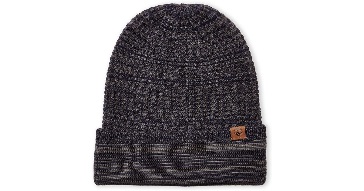 5318312d6a4 Lyst - Timberland Reversible Slouchy Beanie in Blue for Men