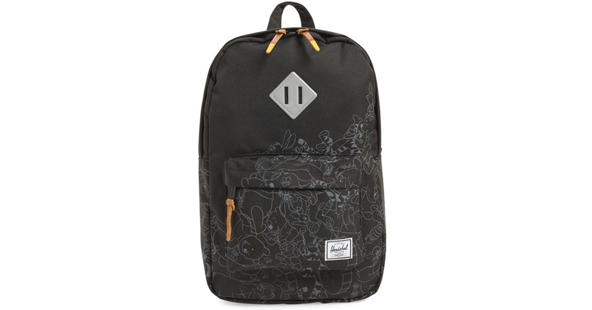 412f27b78db Lyst - Herschel Supply Co.  heritage - Winnie The Pooh  Backpack in Black