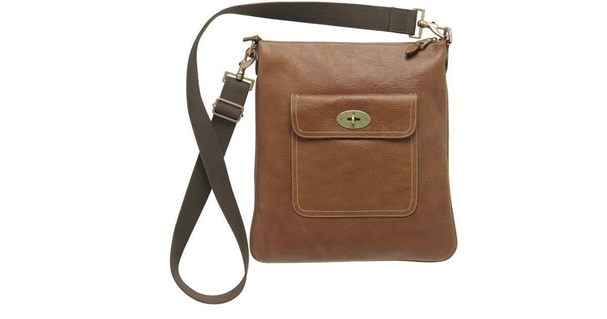 e59c39316ea3 ... bags beauty 60947 c7beb promo code for mulberry seth messenger bag in  brown lyst aa4ed 1c207 ...