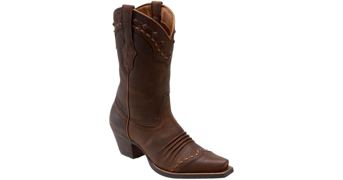 Ariat Dixie Boot in Brown | Lyst