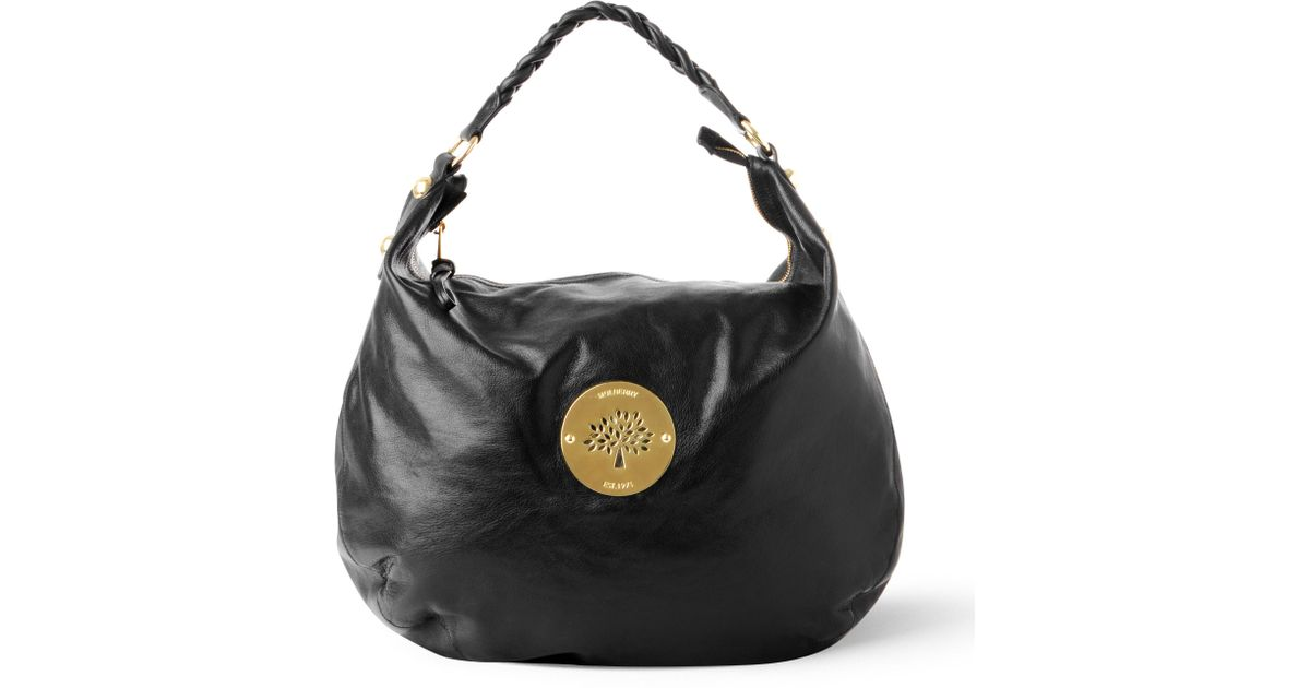 ... hot mulberry daria hobo bag in black lyst de0d2 28ee5 fdc2b891d9286