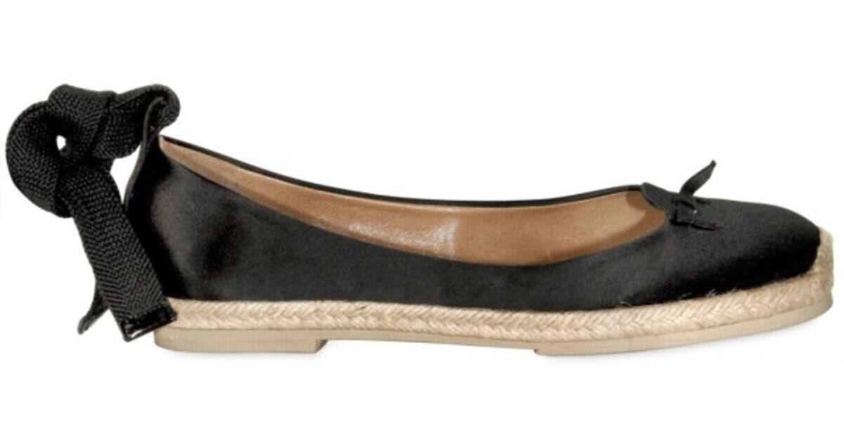 Marc Jacobs Satin Stripe Flats free shipping cheap cheap sale under $60 free shipping cheap online bQZJid
