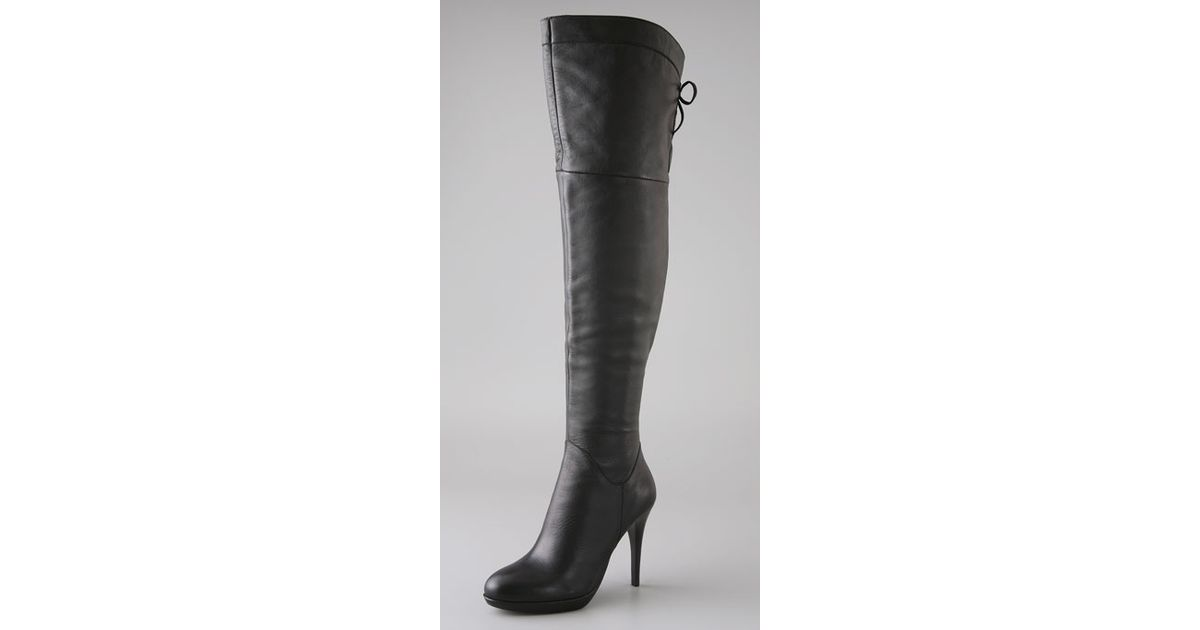 7d4c0726d92 Lyst - Sam Edelman Vesey Over The Knee Boots in Black