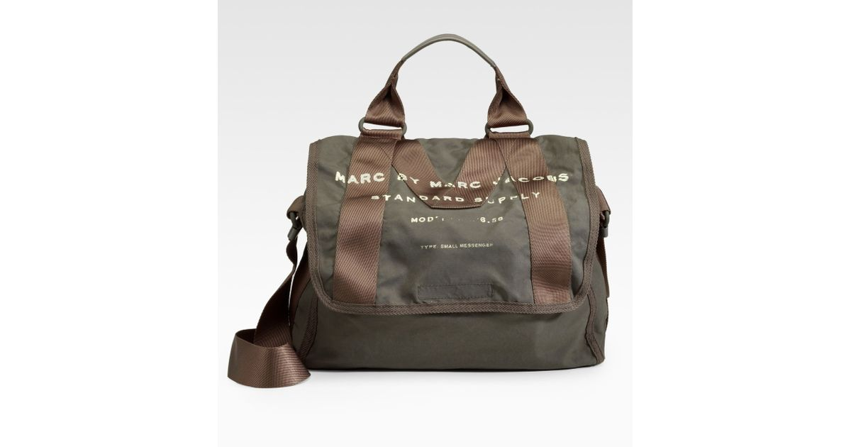 86f93a320913 Lyst - Marc By Marc Jacobs New Standard Supply Small Messenger Bag in Green