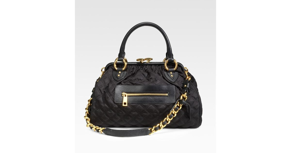 fcda9be7c608 Lyst - Marc Jacobs Stam Bag in Black