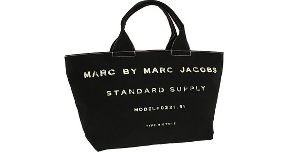 671d357a93e5 Lyst - Marc By Marc Jacobs Classic Standard Supply Big Tote in Black