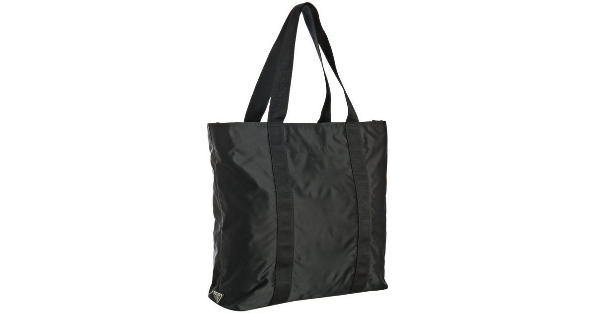 Prada Nylon Shopping Bag