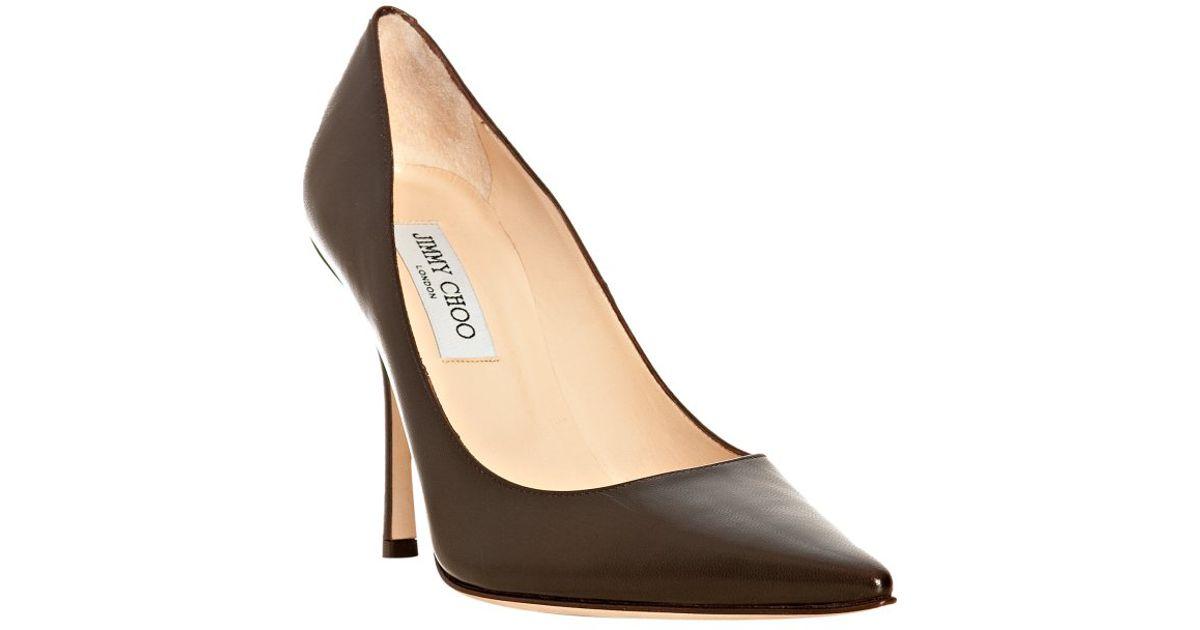buy cheap pay with visa Jimmy Choo Leather Pointed-Toe Pumps+ high quality sale online buy cheap the cheapest XcX2eAhhV