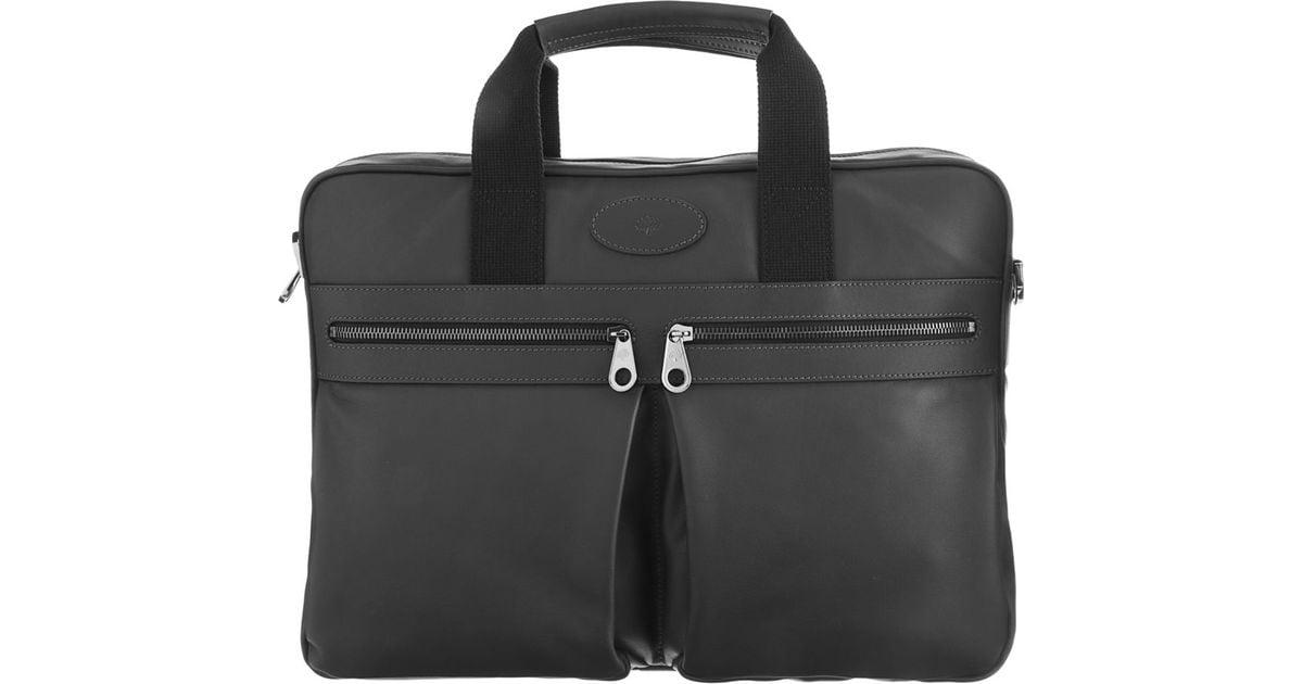 61c9b3e8bc1e Mulberry Henry Laptop Case in Metallic for Men - Lyst