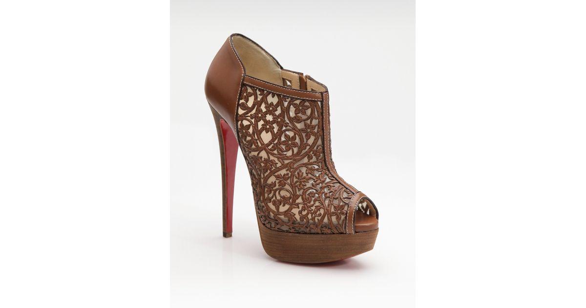 chris louis vuitton shoes - christian louboutin lace-up ankle boots, christian louboutin men ...