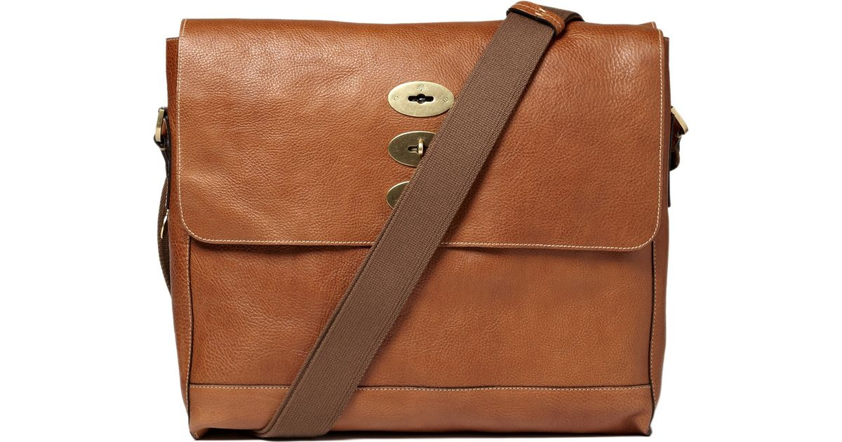 d865b0afca08 1234 b8d61 46f10  closeout lyst mulberry brynmore leather messenger bag in  brown for men 7a1ec 3eb7c