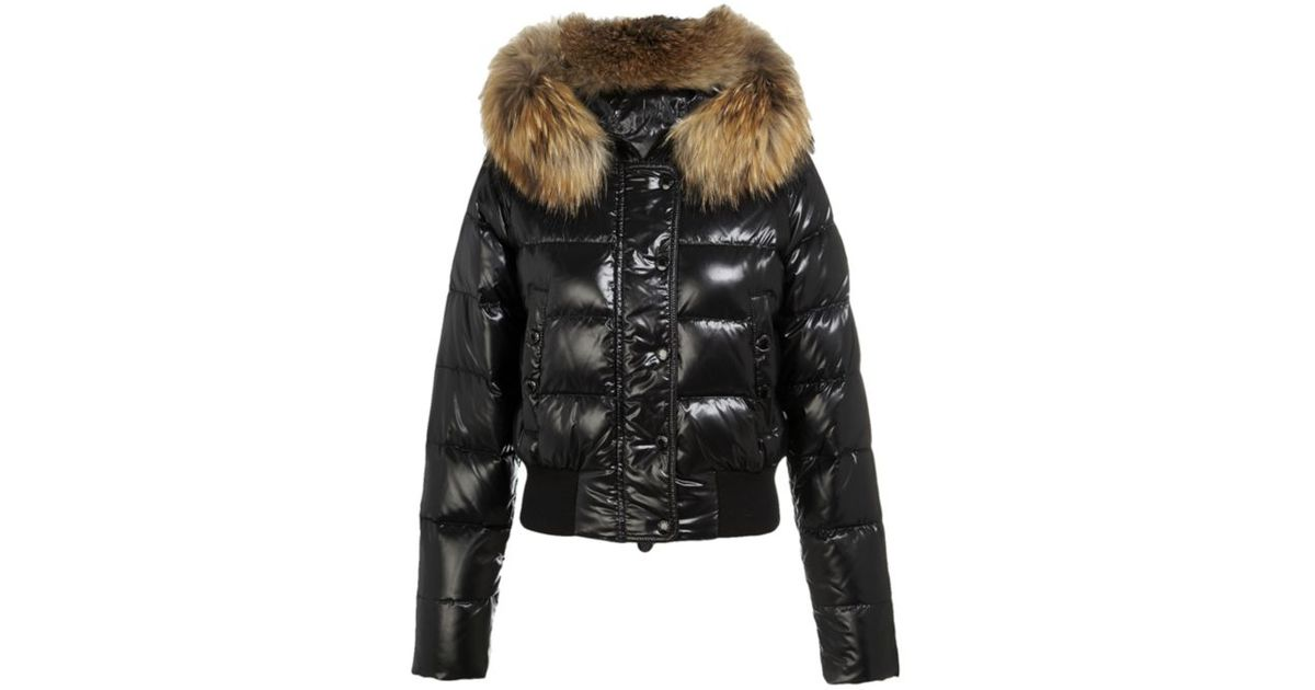 ... netherlands moncler alpin bomber jacket with fur trim 38a55 9126c 97dbd7f5fa