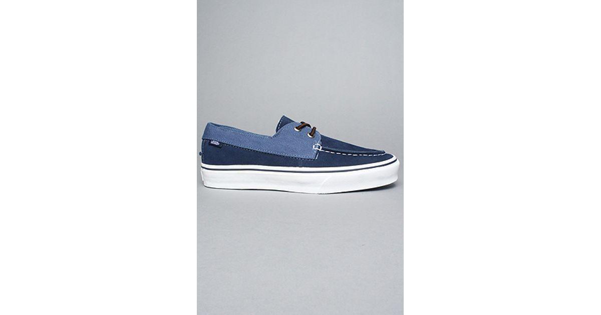 f8bfa6f320 Lyst - Vans The Zapato Slip Ca in Peacoat   Ensign Blue in Blue for Men