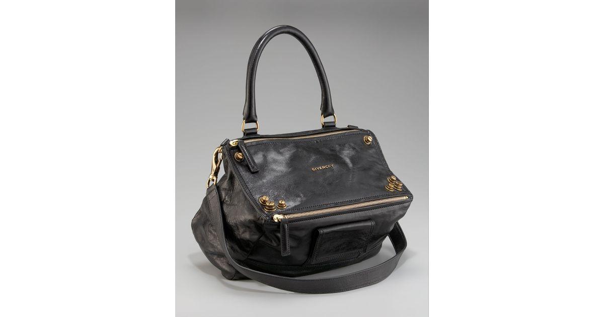 f7a1e5862857 Lyst - Givenchy Medium Studded Pandora Shoulder Bag in Gray