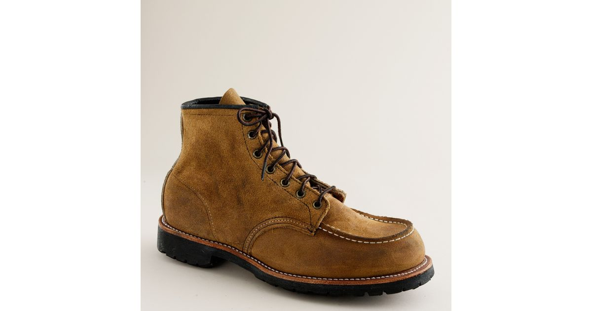 dd04b4d5a755 Lyst - J.Crew Red Wing® For J.crew Sandblasted Classic Boots in Natural for  Men