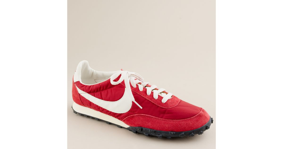 official photos 03bf1 601e8 J.Crew Nike® Vintage Collection Waffle® Racer Sneakers in Red for Men - Lyst