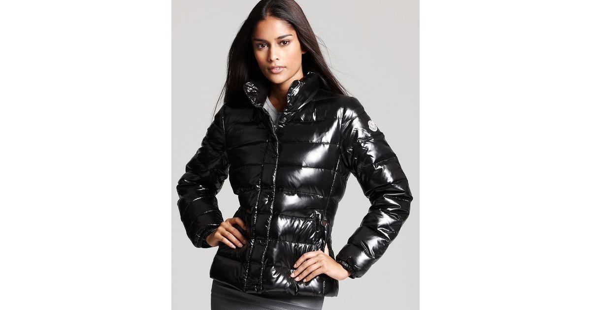 moncler black puffer coat
