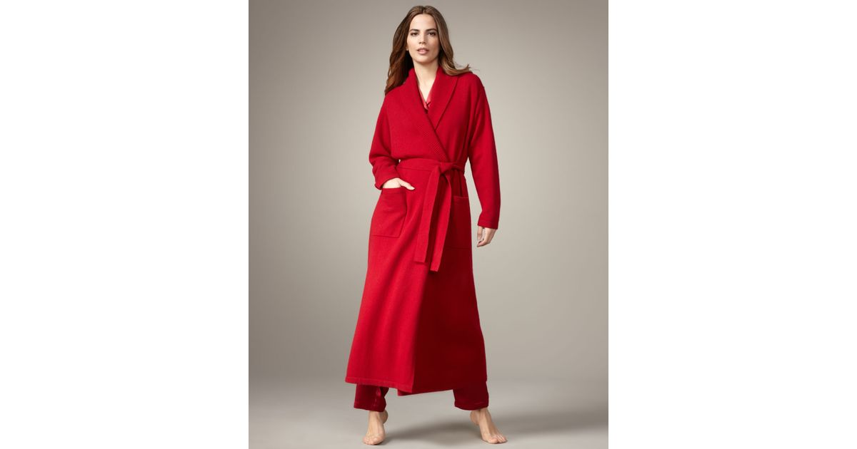 5d57aa78bfd Neiman Marcus Long Cashmere Robe