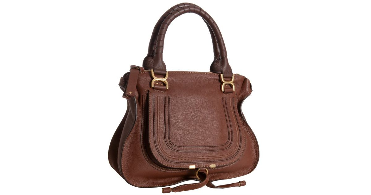 chloe bags prices - chloe calfskin large marcie satchel ebony