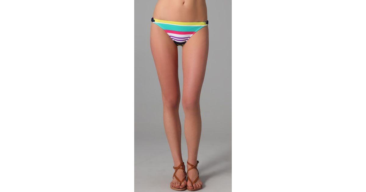 Carnival bikini bottoms afraid, that