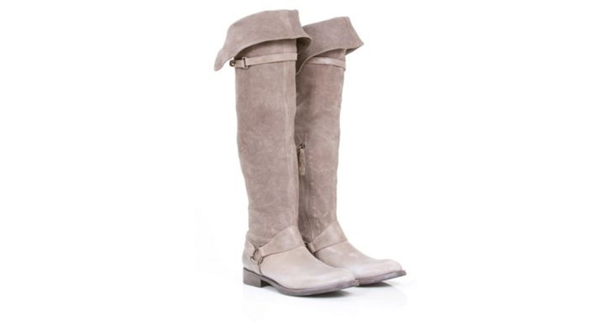 cheap sale new Brunello Cucinelli Suede Over-The-Knee Boots outlet 2014 unisex PdVH8ULUzQ