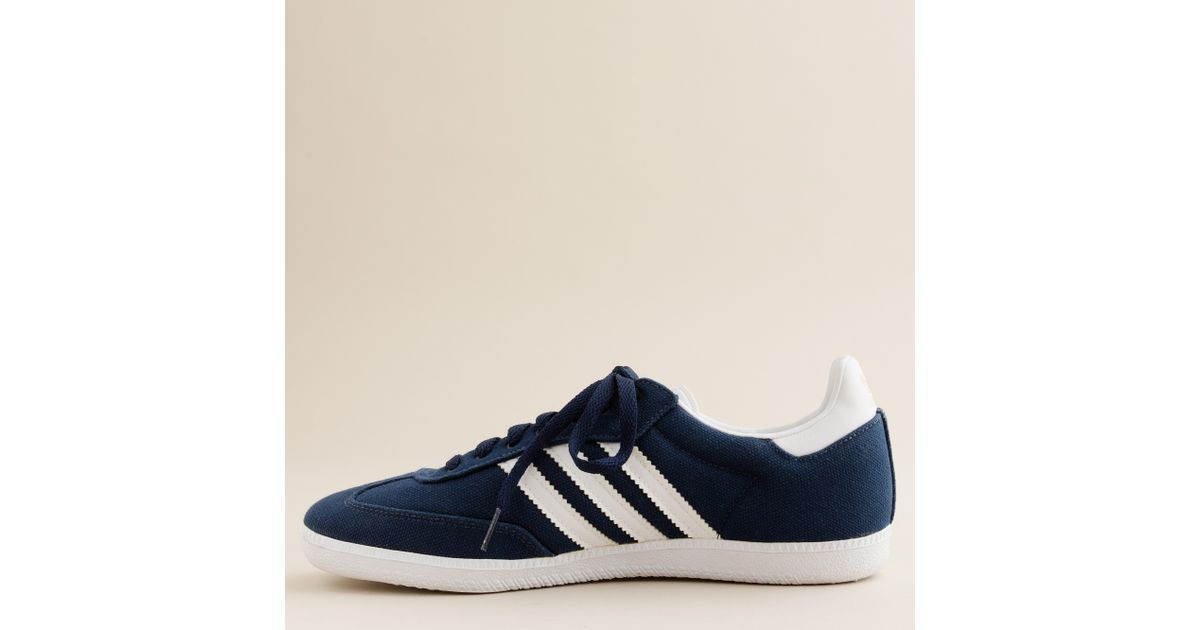 wholesale dealer 36aba f7f15 J.Crew Adidas® Canvas Samba® Sneakers in Blue for Men - Lyst
