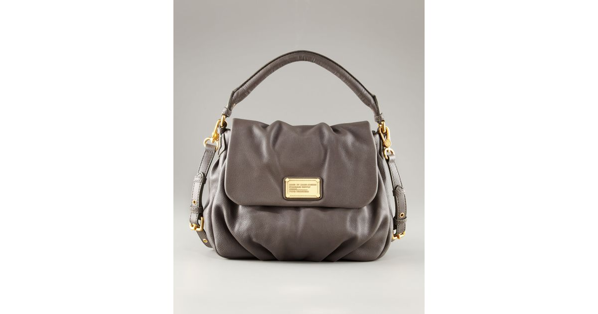 Lyst - Marc By Marc Jacobs Classic Q Lil Ukita Bag in Gray b80d055c460f