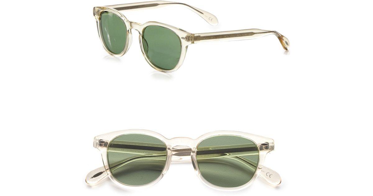 d622a90c94b4 Lyst - Oliver Peoples Sheldrake Retro Plastic Sunglasses