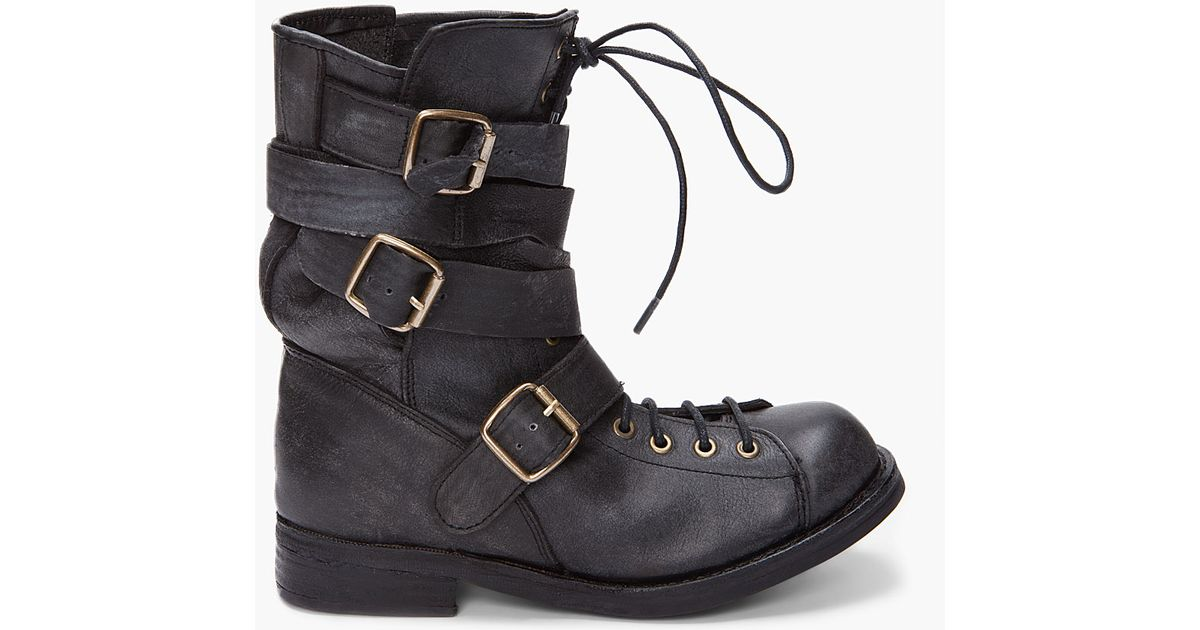 Jeffrey campbell Black Fall Man Boots in Black for Men | Lyst