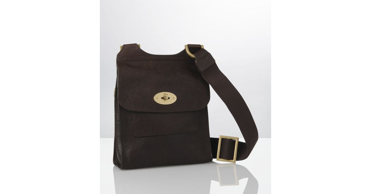 Mulberry Chocolate Antony Satchel (small) in Brown for Men - Lyst cd3f2e96dc892