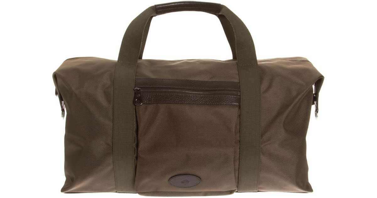 19a092ddce9e Mulberry Henry Gym Bag in Green for Men - Lyst