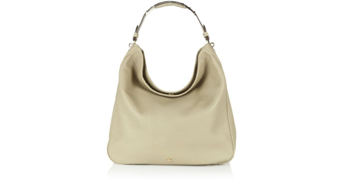 d1aae425f5 Mulberry Evelina Hobo Summer Khaki in Natural - Lyst