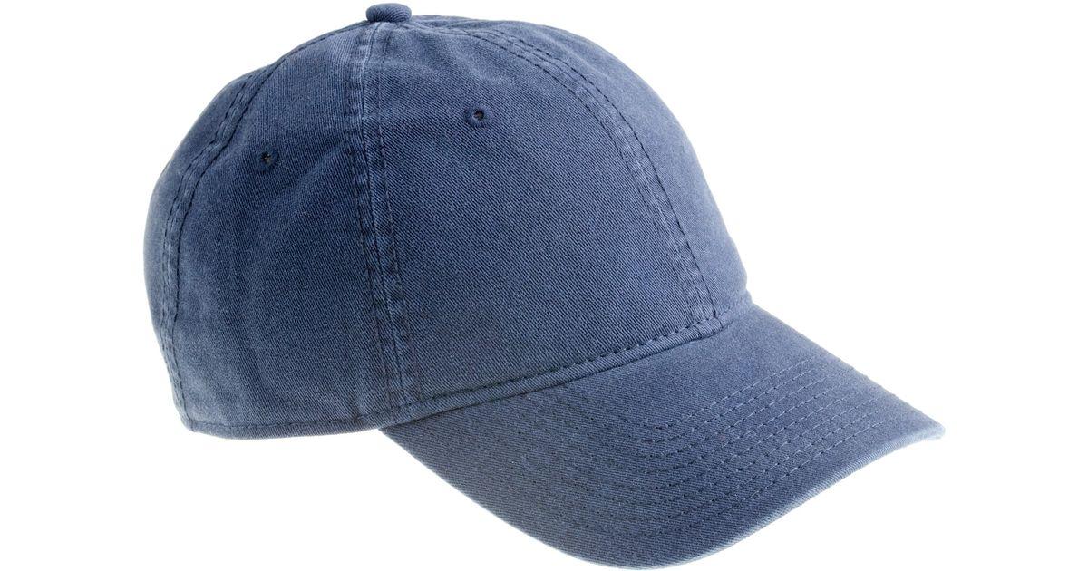 4260b5b670b Lyst - J.Crew Weekender Baseball Cap in Blue for Men