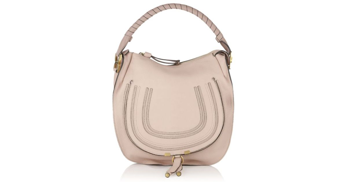 554c7c02014 Chloé Marcie Small Hobo Bag in Pink - Lyst