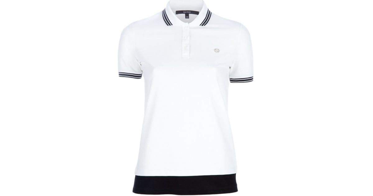 8a06318f234 Gucci Polo Shirt in White