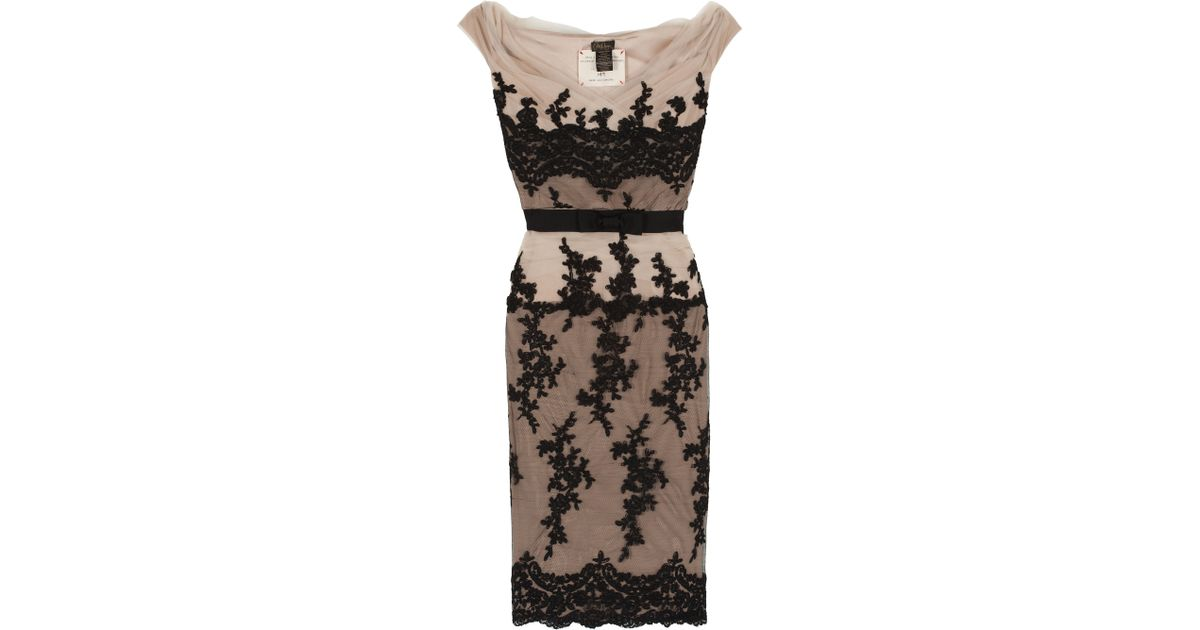 Lyst - Collette dinnigan Mirabella Lace Cocktail Dress in ...