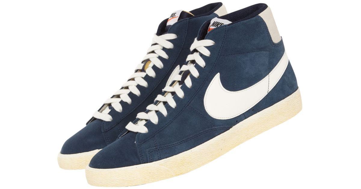 nike high tops vintage blazer