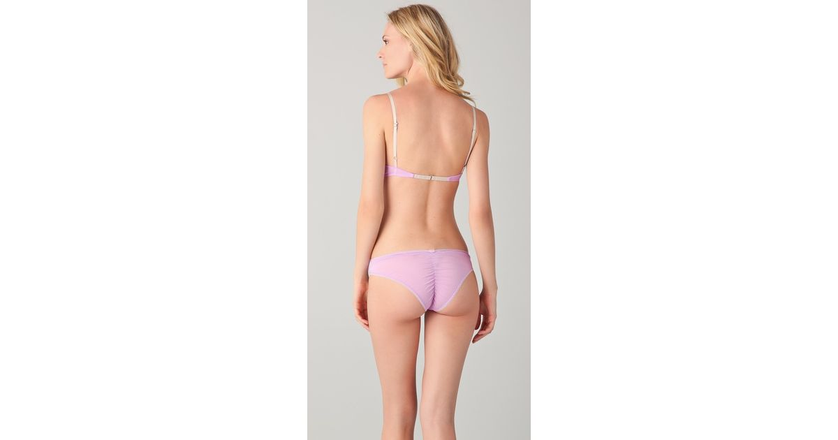 827e3a290081 Lyst - Zinke Montauk Bralette in Pink