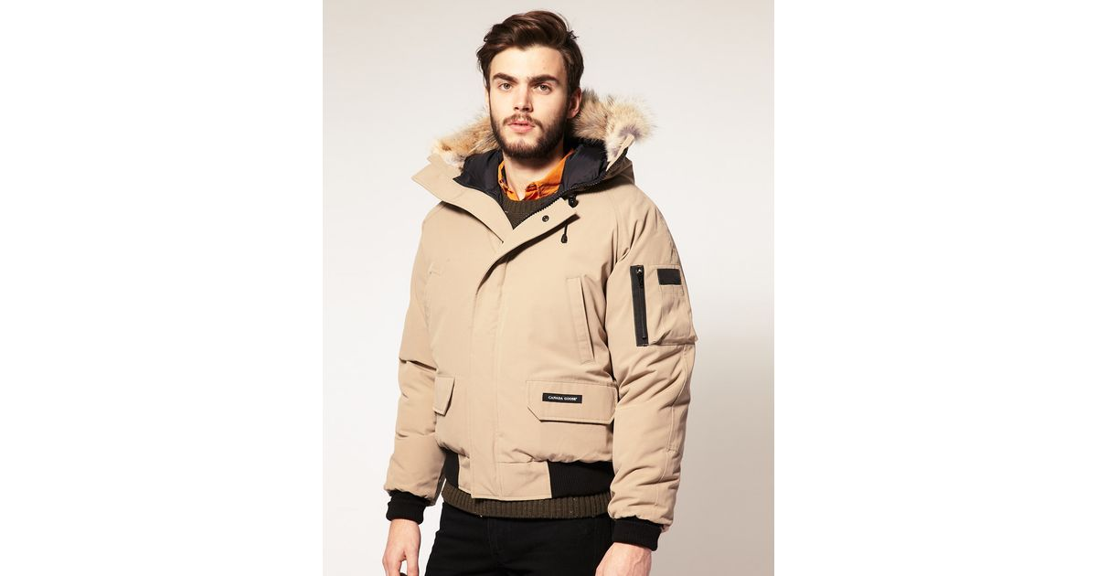 2b3dbf501b85 Lyst - Canada Goose Canada Goose Chilliwack Bomber Jacket in Brown ...