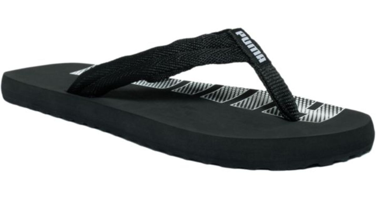 b2fa5d21fe6b2 Lyst - PUMA Epic Flip Flop Sandals in Black for Men