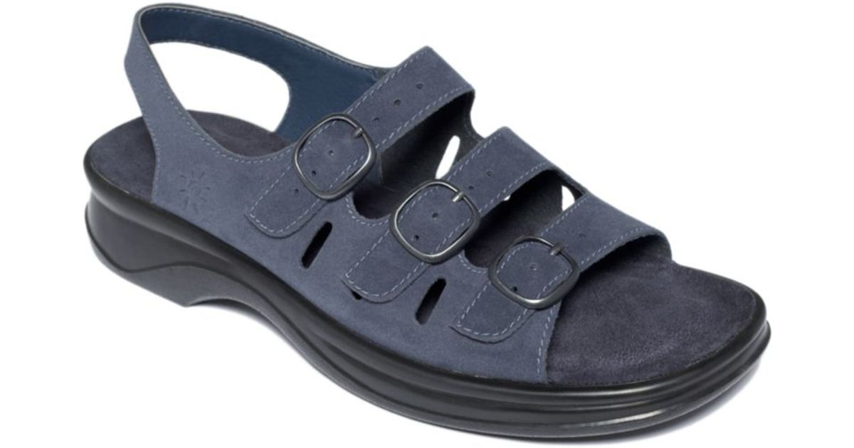 249c7706d932 Lyst - Clarks Sunbeat Sandals in Blue