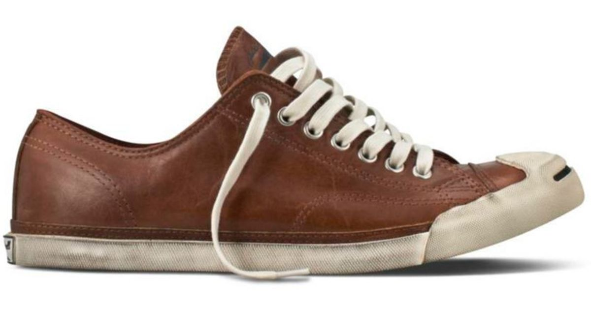 6c877ffb4b5b ... cheapest lyst converse jack purcell lp ii leather oxfords in brown for  men a421c 0af9e