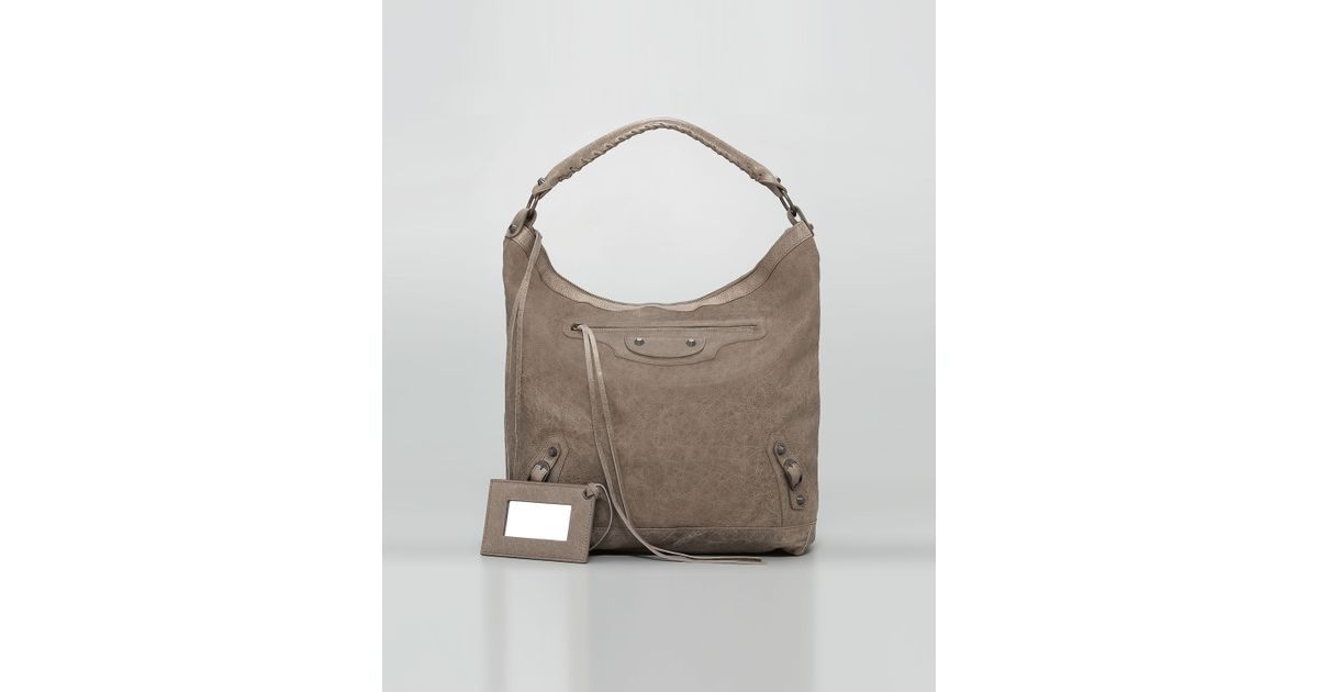 e3ef2a3ae461 Lyst - Balenciaga Classic Day Bag in Gray