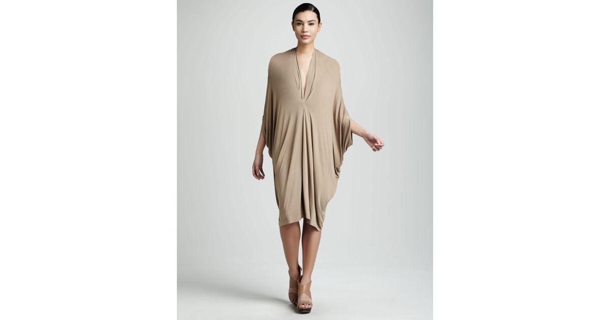 Rachel pally Gwyneth Short Caftan Dress Womens in Natural | Lyst