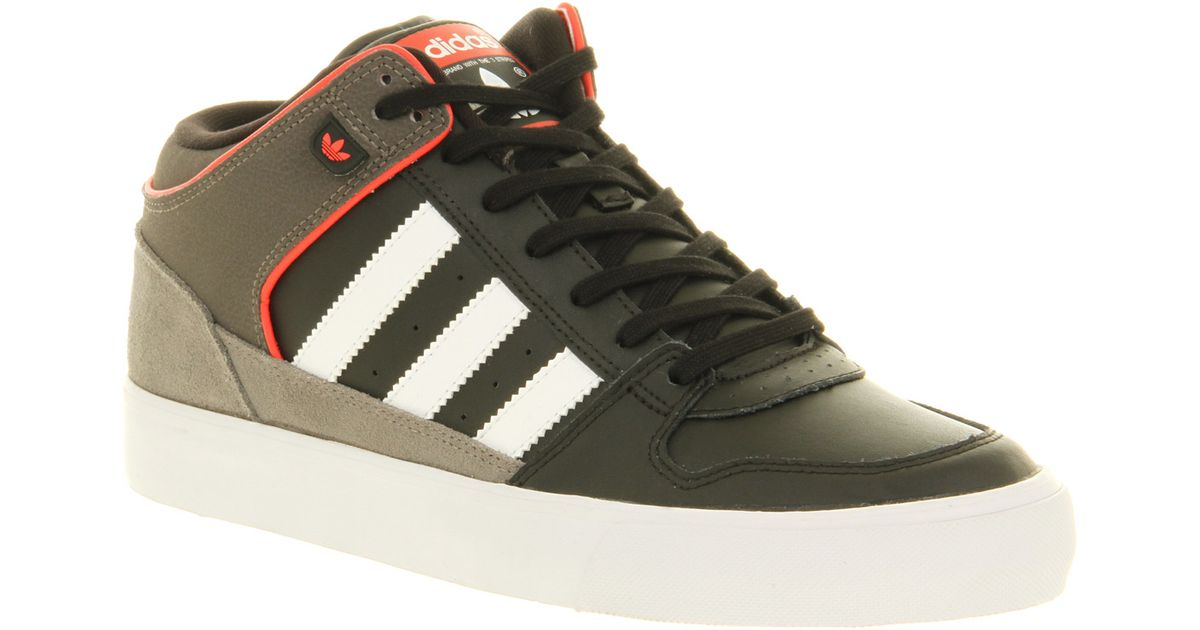 new style 342b2 8f97d Lyst - adidas Culver Vulc Mid Blkwhtenergy in Black for Men