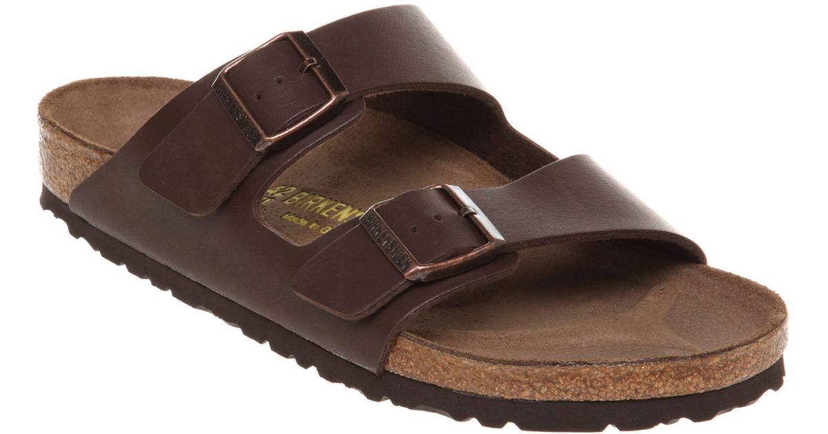 65025dc3b Lyst - Birkenstock Mens Arizona Sandal Brown Rubber in Brown for Men