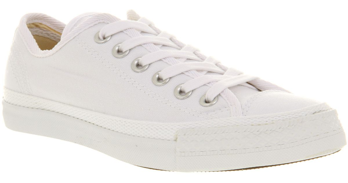 Lyst - Converse All Star Lo Lp Canvas White Exc in White for Men bc5c0c6cd