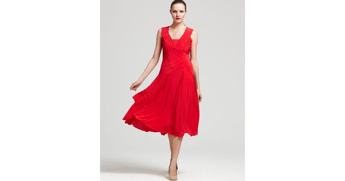 Nanette lepore Dress Beauty Queen Sleeveless in Red  Lyst