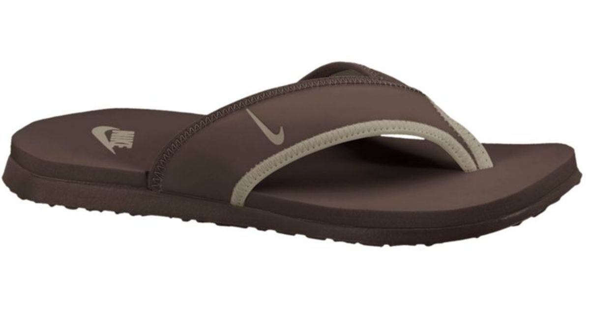 b2bc7cf198ca84 Lyst - Nike Celso Thong Plus Sandals in Brown for Men