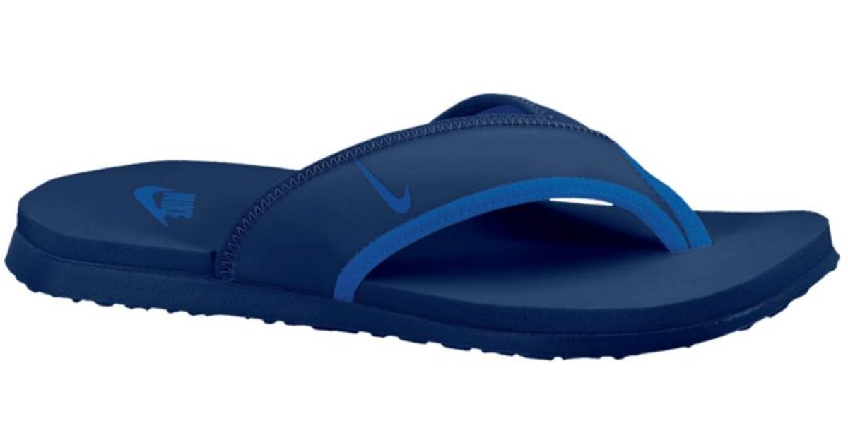 e148cec90 Lyst - Nike Celso Thong Plus Sandals in Blue for Men